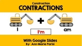 Distance Learning Google Slides CONTRACTIONS