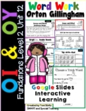 Distance Learning Google Slides Fun Phonics Vowel Teams OI & OY (Second Grade)