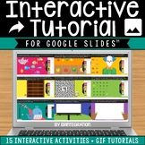 Distance Learning on Google Slides Interactive Tutorial Pa