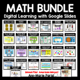 Distance Learning Google Slides MATH BUNDLE