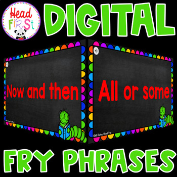 Fry Sight Word Practice Phrases Google Classroom and Distance Learning List 1