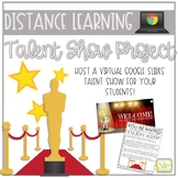 Distance Learning | Google Slides Talent Show | Bitmoji Ed