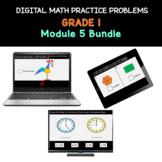 Distance Learning   Grade 1 Math Practice Bundle Module 5
