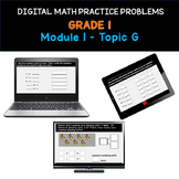 Distance Learning   Grade 1 Math Practice: Module 1 Topic