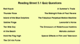 Distance Learning Grade 5.1 Reading Street Comprehension Questions