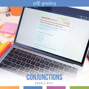 Distance Learning Grammar Lesson: Conjunctions Option Two