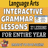 Distance Learning Grammar Skills Interactive Lessons and P