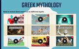 Distance Learning Greek Mythology GATE Prompt Activities
