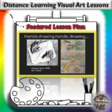 Distance Learning Hands Drawing Hands, Drawing... Visual A