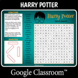 DIGITAL Harry Potter Word Search
