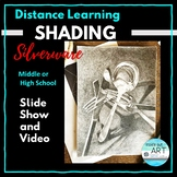 Distance Learning: High School Art:-Shading Silverware Still Life