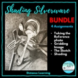 Distance Learning: High School Art Bundle- Drawing and Sha