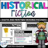 Distance Learning  |  Historical Fiction Google Slides