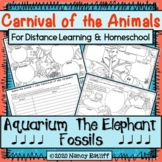 Distance Learning & Home School: Carnival of the Animals