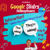 Distance Learning - Homophones - There, Their, and They're