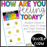 Distance Learning   How Are You Feeling Today?-Google Form
