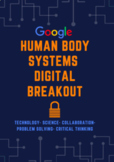 Distance Learning Human Body Systems Digital Breakout Escape Room