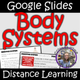 Distance Learning: Human Body Systems (Google Slides)