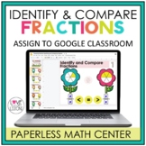 Distance Learning Identify and Compare Fractions / Google