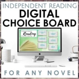 Distance Learning Independent Reading Choice Board