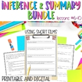 Inference and Summary with Shorts BUNDLE Google Slides