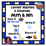 Distance Learning: Interactive Fun Phonics Week 2 Letters M & N Boom Cards