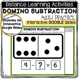 Distance Learning - Interactive Google Slides - Domino Sub
