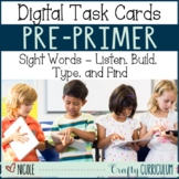 Distance Learning Interactive Pre-Primer Sight Words