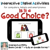 Distance Learning ⋅ Is It a Good Choice? ⋅ Interactive PDF
