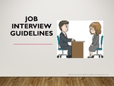 Distance Learning - Job Interview PowerPoint