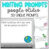 Distance Learning: Journal Prompts for Google Slides or Go
