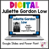 Distance Learning Juliette Gordon Low Google Slides and Po