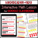 Distance Learning-Kindergarten Interactive Math Lesson For