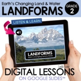 Landforms & Earth Changes 2nd Grade Digital Science Activities