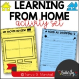 Summer Learning Activities   Learning From Home Enrichment