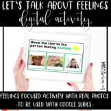 Distance Learning | Let's Talk About Feelings Digital Activities - REAL PHOTOS