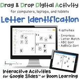 Distance Learning: Letter Identification Interactive Activ