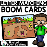 Distance Learning- Letter Matching Boom Cards Boom Deck