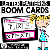 Distance Learning -  Letter Pattern Boom Cards