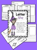 Distance Learning: Letter Ww (No Prep worksheets)