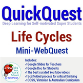 Distance Learning - Life Cycles QuickQuest