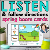 Listen and Follow Directions - Spring | Distance Learning