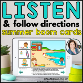 Listen and Follow Directions - Summer | Distance Learning