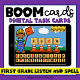 Sight Words Boom Cards Listen and Spell | First Grade