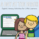 Distance Learning Literacy Activities  | Google Classroom