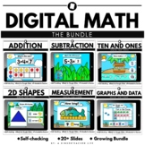 Distance Learning | Literacy and Math Task Cards The Bundle