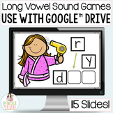 Distance Learning | Long Vowel Sound Games for Google™ Classroom