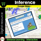 Distance Learning MAKING an INFERENCE  {Google Slides™ }