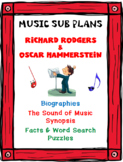 Distance Learning MUSIC SUB PLANS for RODGERS & HAMMERSTEI