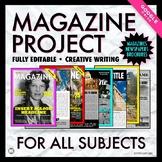 Magazine Project: Distance Learning, Creative Writing, Jou